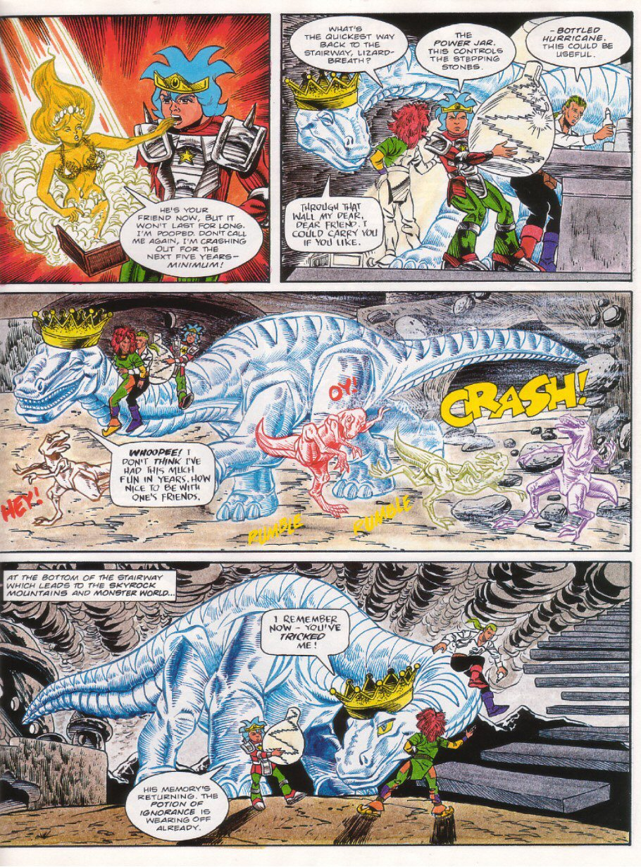Read online Sonic the Comic comic -  Issue #27 - 27