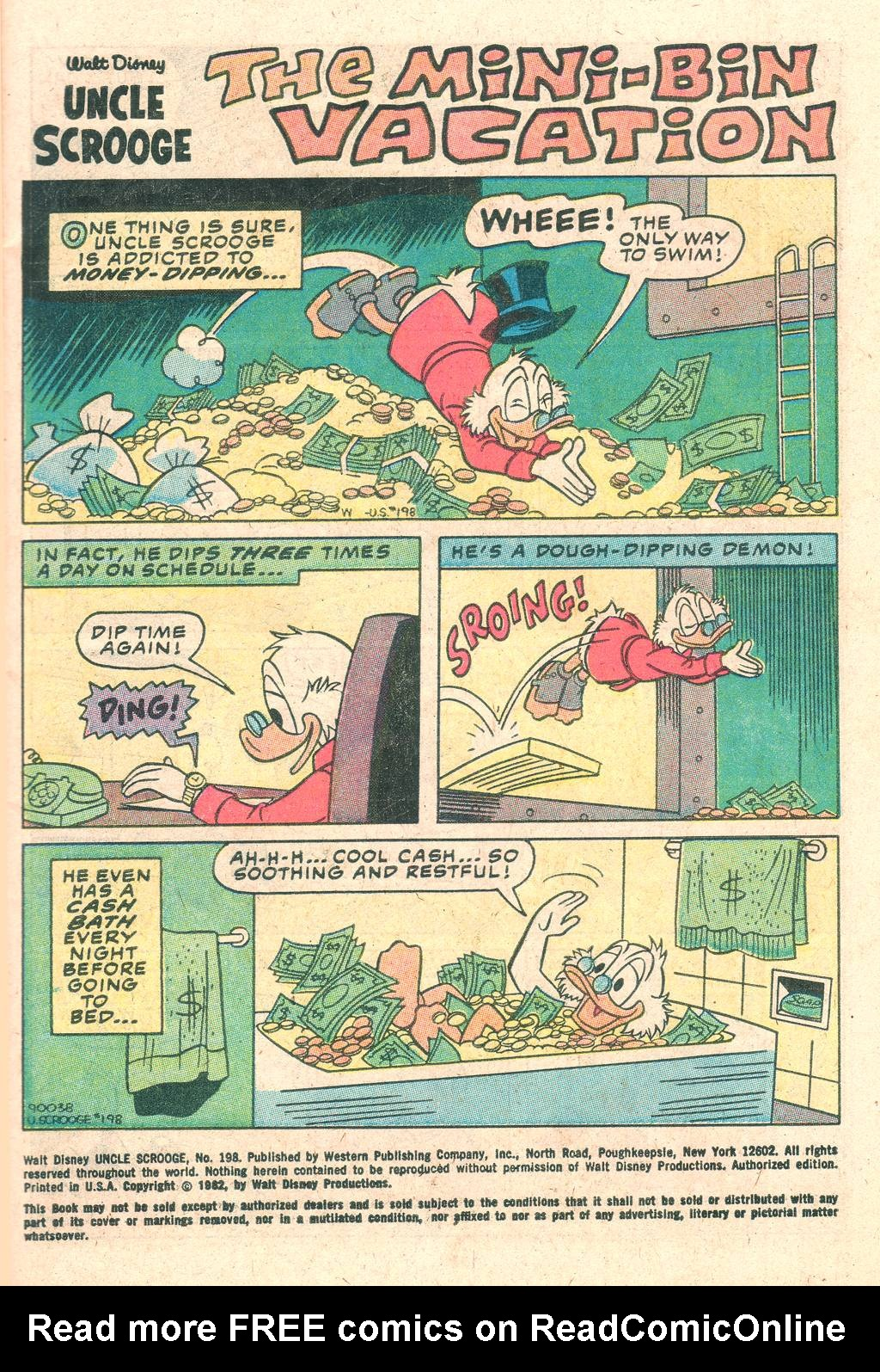Read online Uncle Scrooge (1953) comic -  Issue #198 - 3
