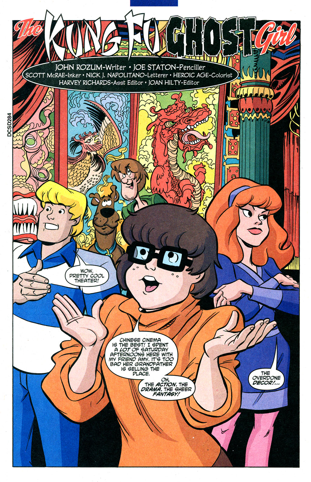 Read online Scooby-Doo (1997) comic -  Issue #91 - 2