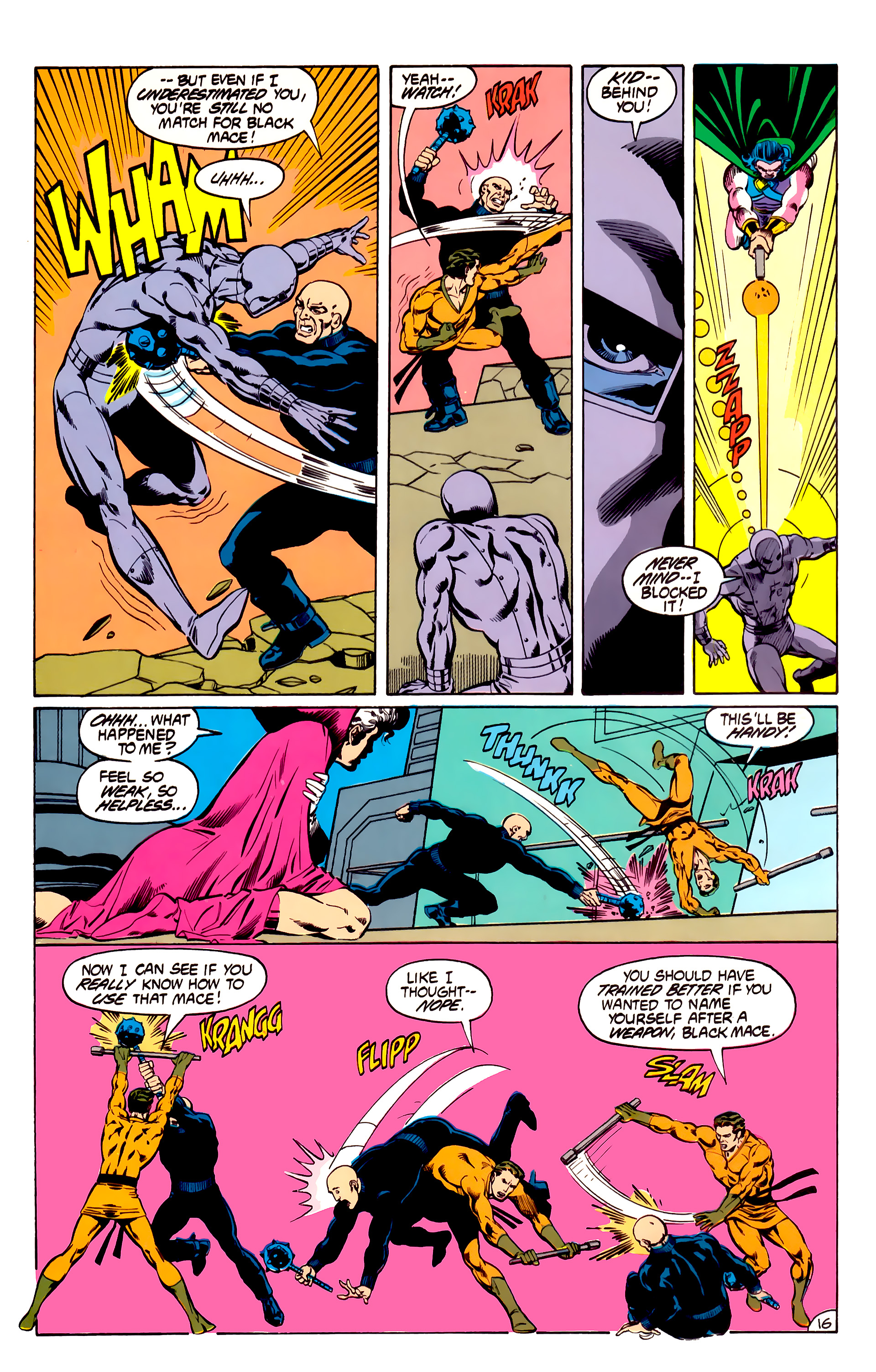 Legion of Super-Heroes (1984) 31 Page 16