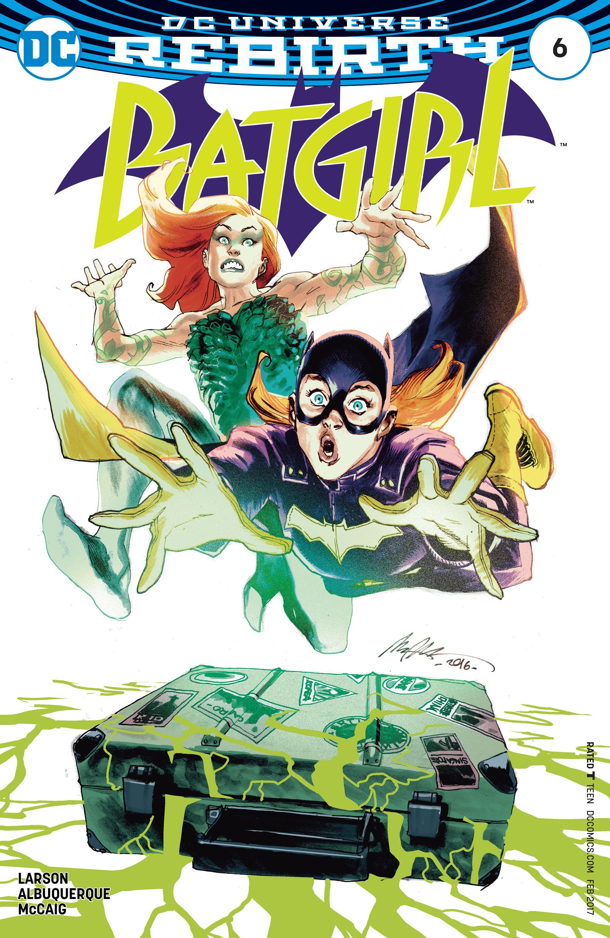 Batgirl (2016) 6 Page 1