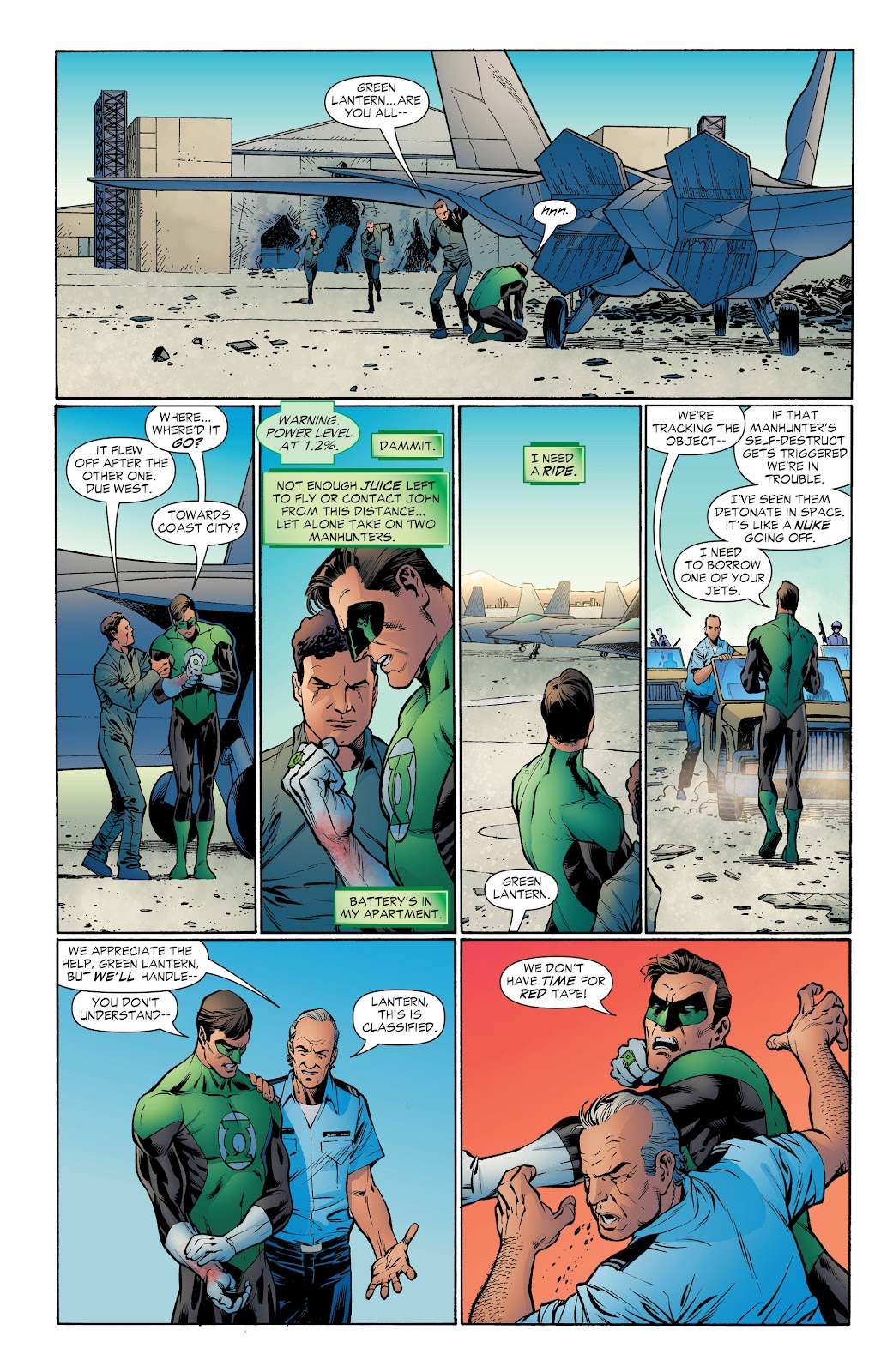 Read online Green Lantern by Geoff Johns comic -  Issue # TPB 1 (Part 4) - 52
