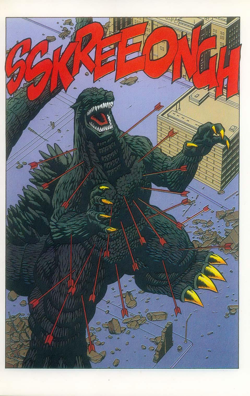 Godzilla (1995) Issue #7 #8 - English 10