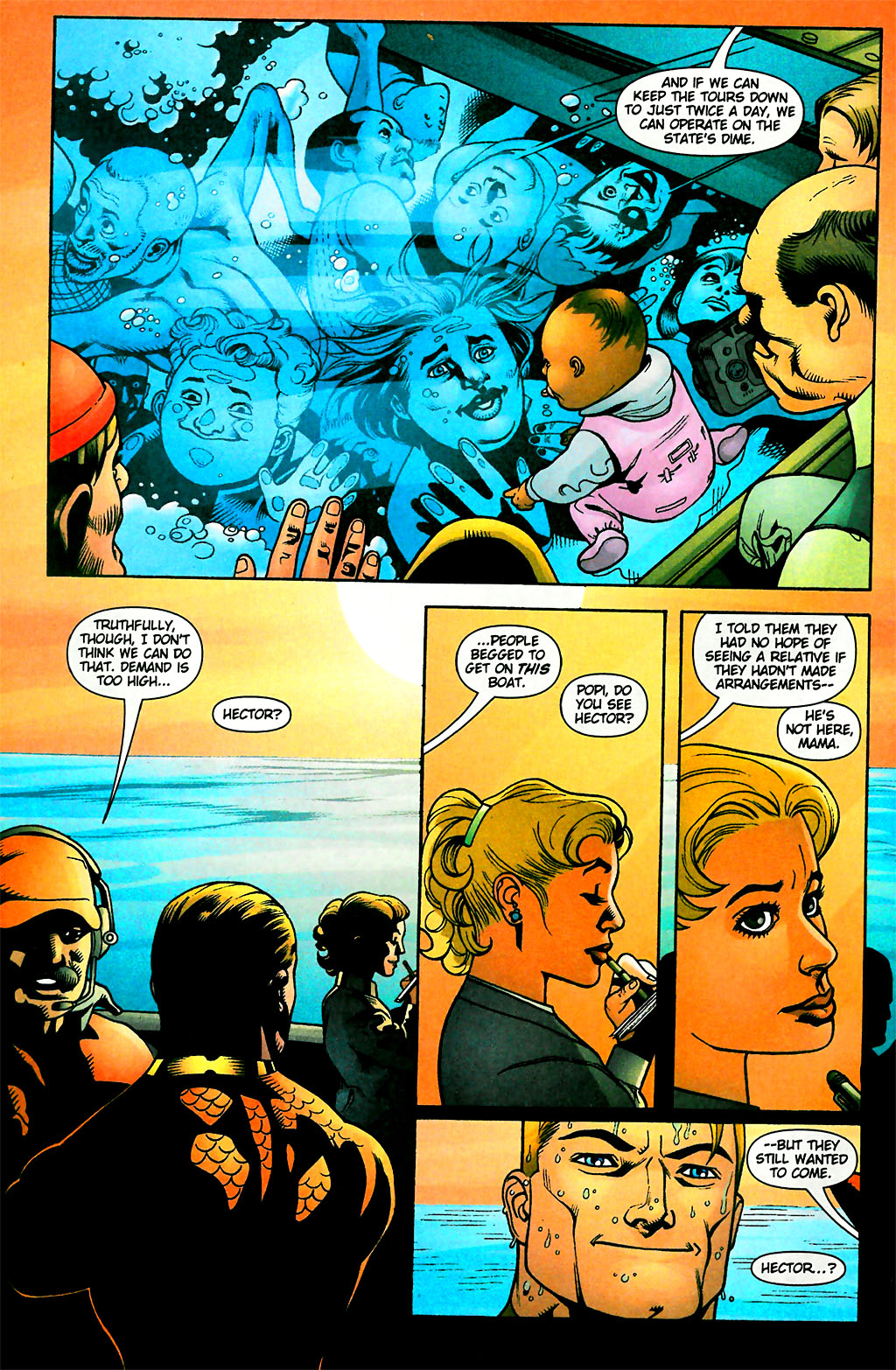 Read online Aquaman (2003) comic -  Issue #28 - 7