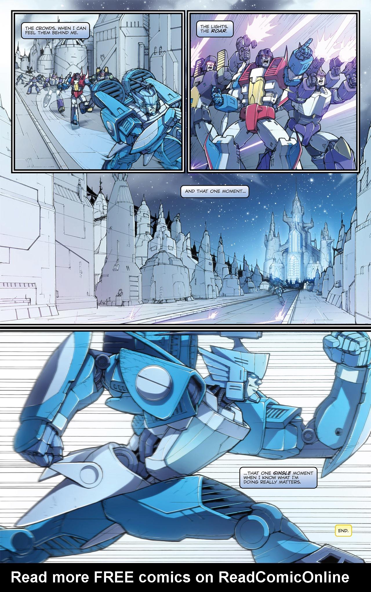 Read online Transformers Spotlight: Blurr comic -  Issue # Full - 25