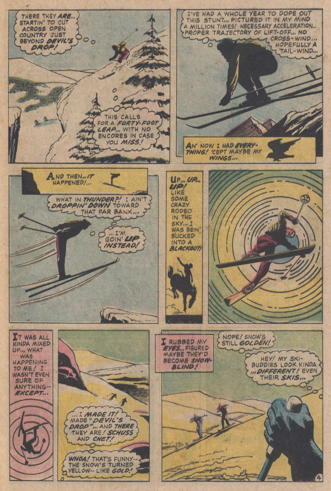 Read online Strange Sports Stories (1973) comic -  Issue #5 - 24