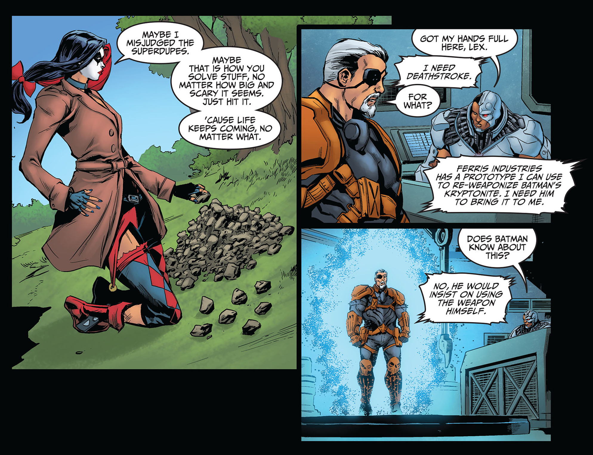Read online Injustice: Ground Zero comic -  Issue #14 - 18