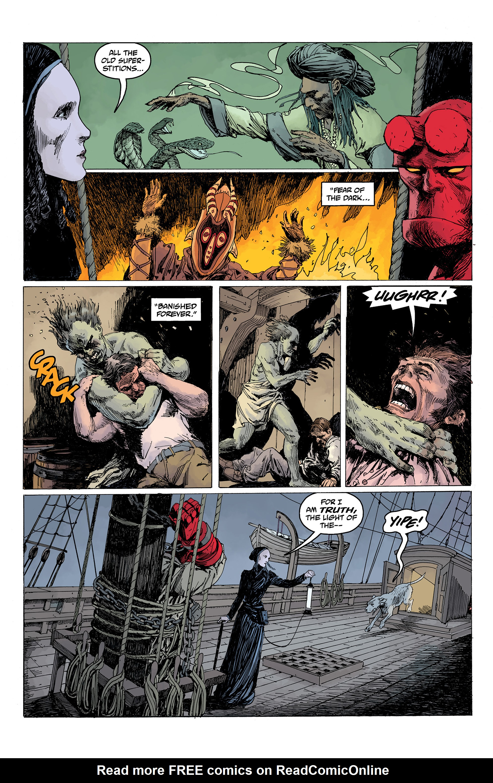 Read online Hellboy: Into the Silent Sea comic -  Issue # Full - 35