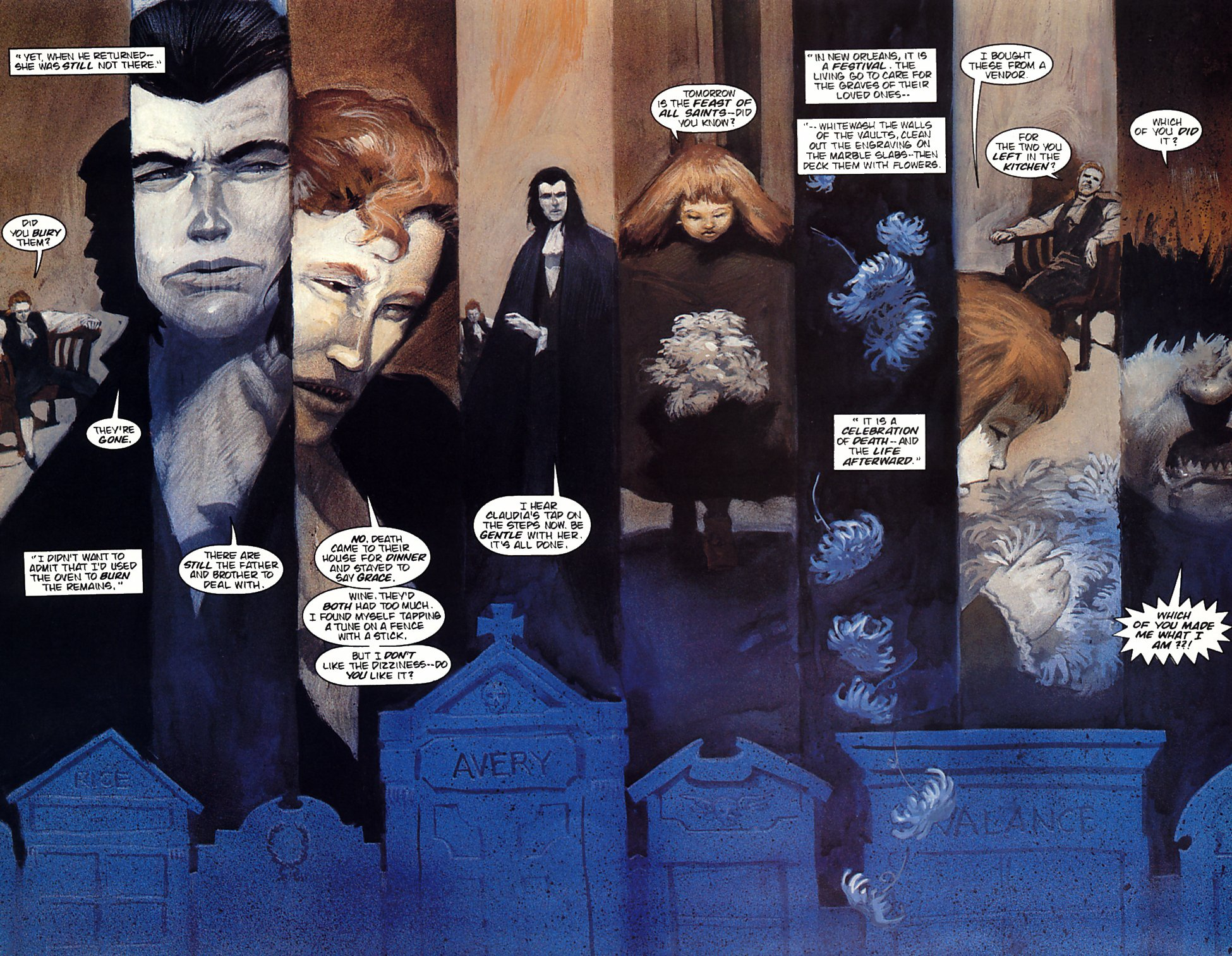 Read online Anne Rice's Interview with the Vampire comic -  Issue #4 - 19