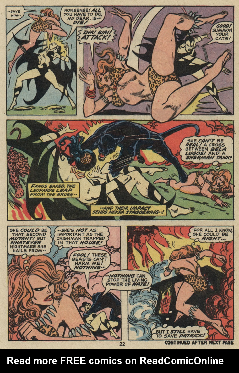 Read online Shanna, the She-Devil (1972) comic -  Issue #5 - 17