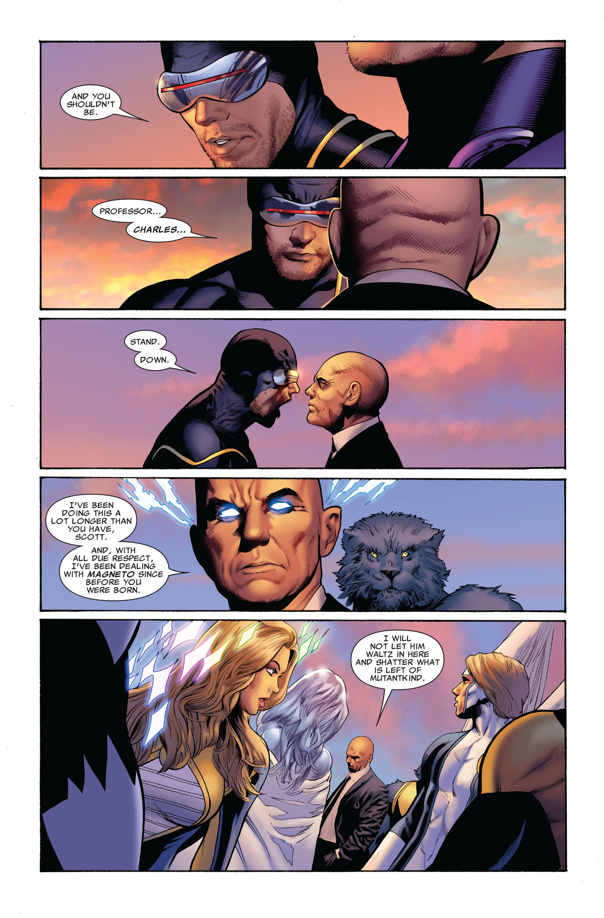 Read online Uncanny X-Men (1963) comic -  Issue #516 - 10