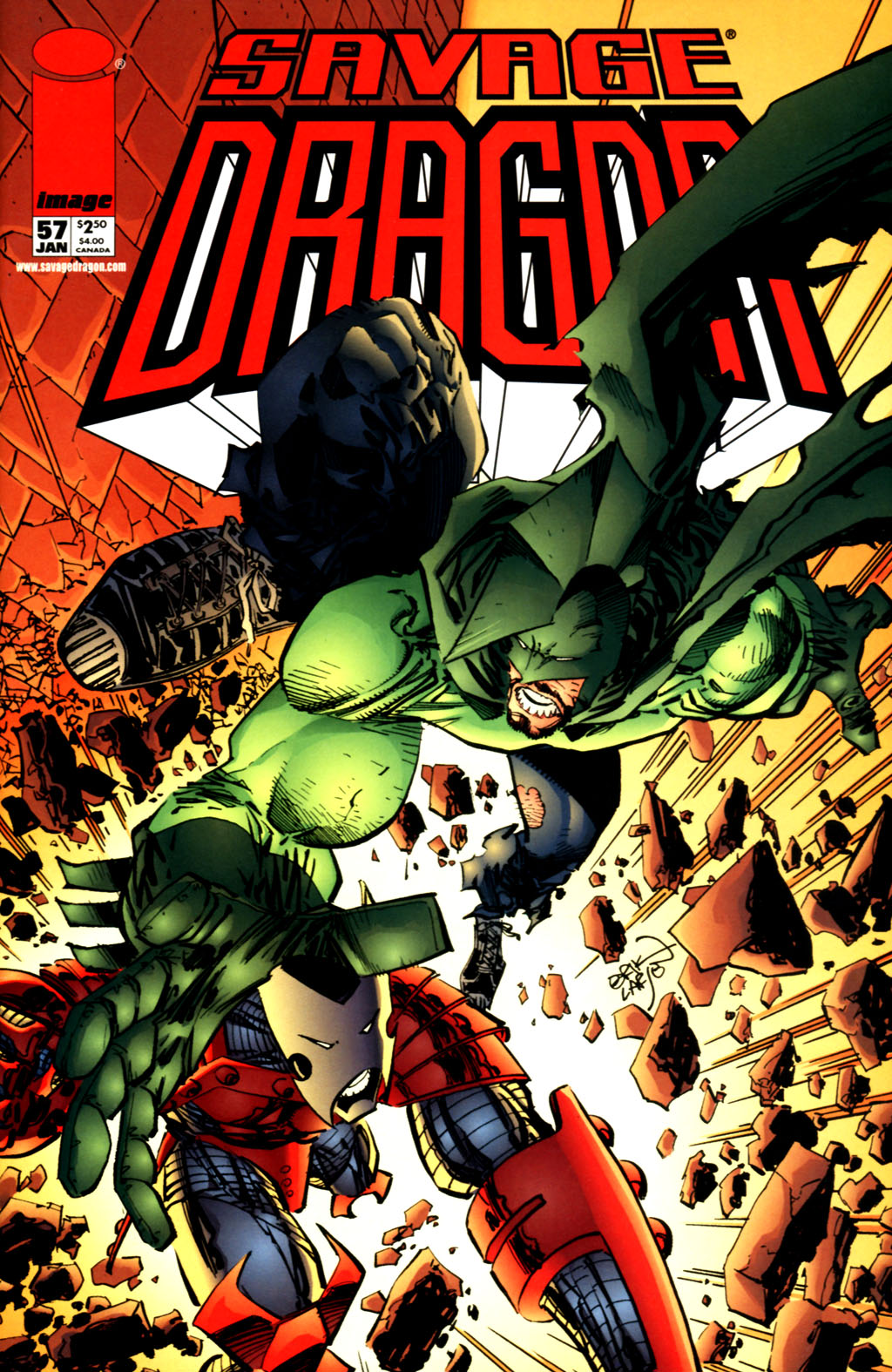 The Savage Dragon (1993) Issue #57 #60 - English 1