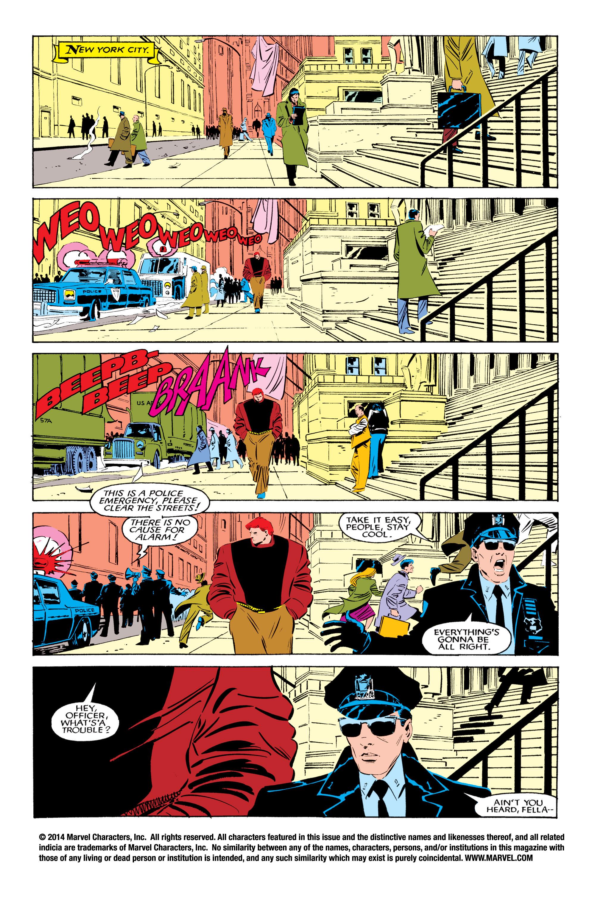 Read online Uncanny X-Men (1963) comic -  Issue #194 - 2