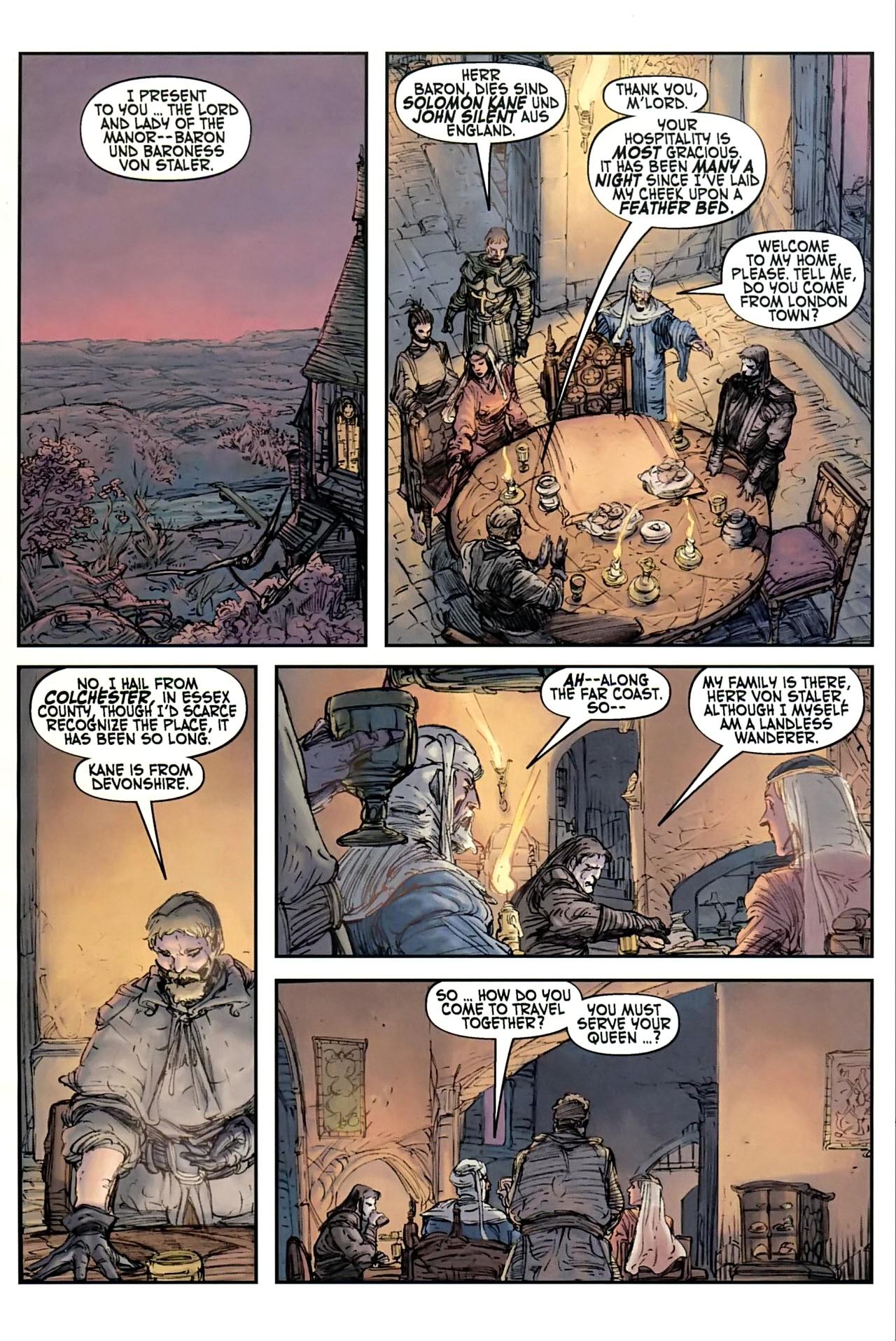Read online Solomon Kane comic -  Issue #1 - 19