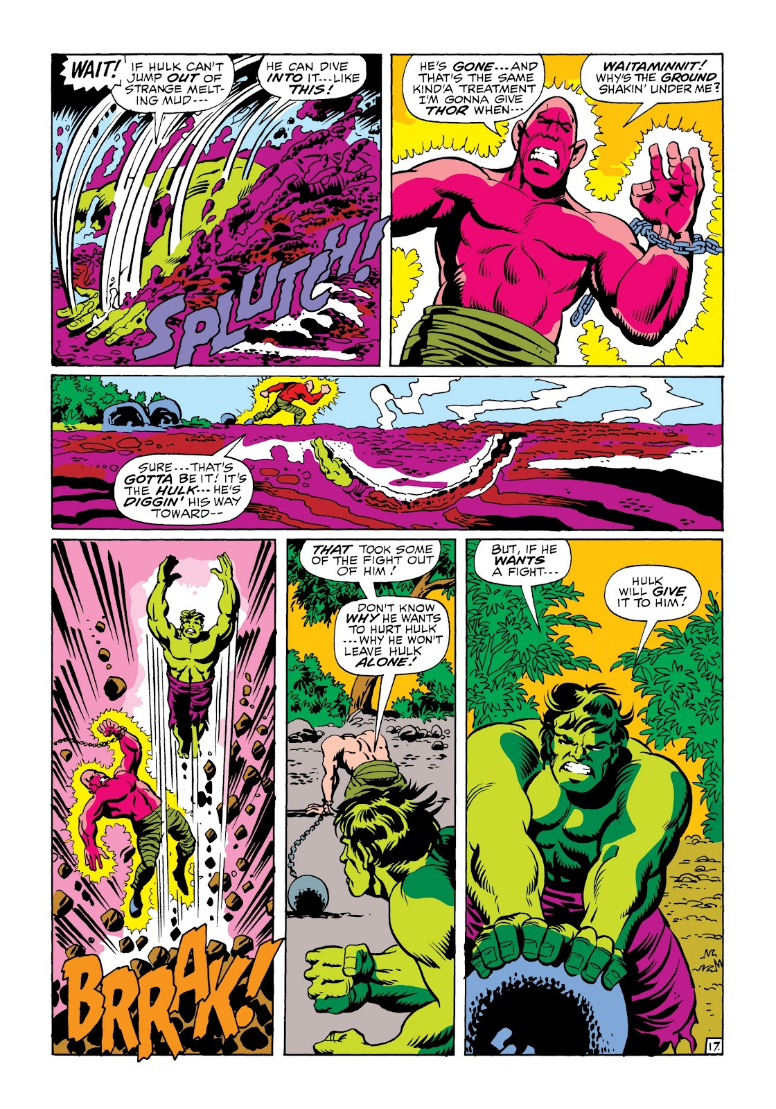 Read online Marvel Masterworks: The Incredible Hulk comic -  Issue # TPB 6 (Part 1) - 89