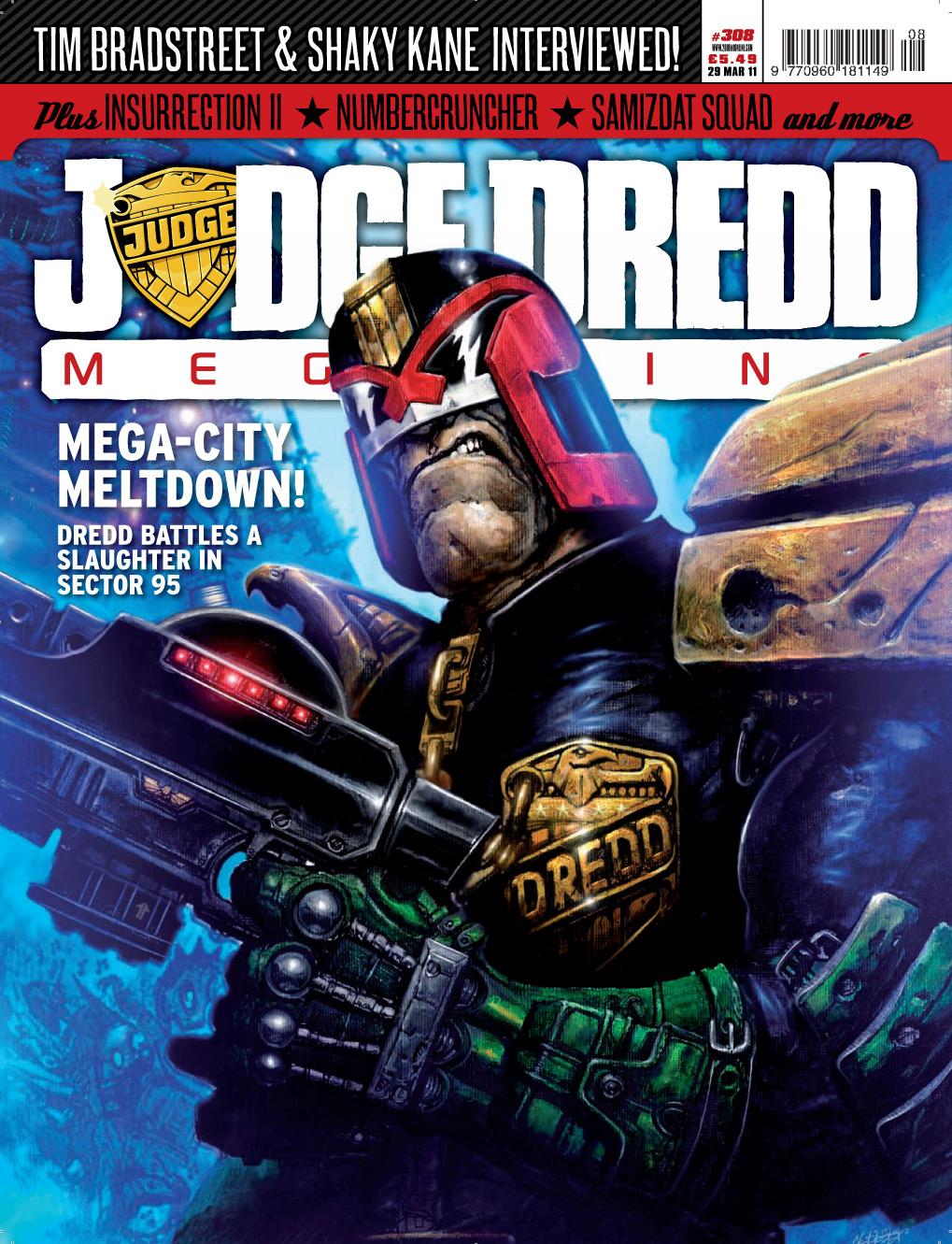 Judge Dredd Megazine (Vol. 5) 308 Page 1