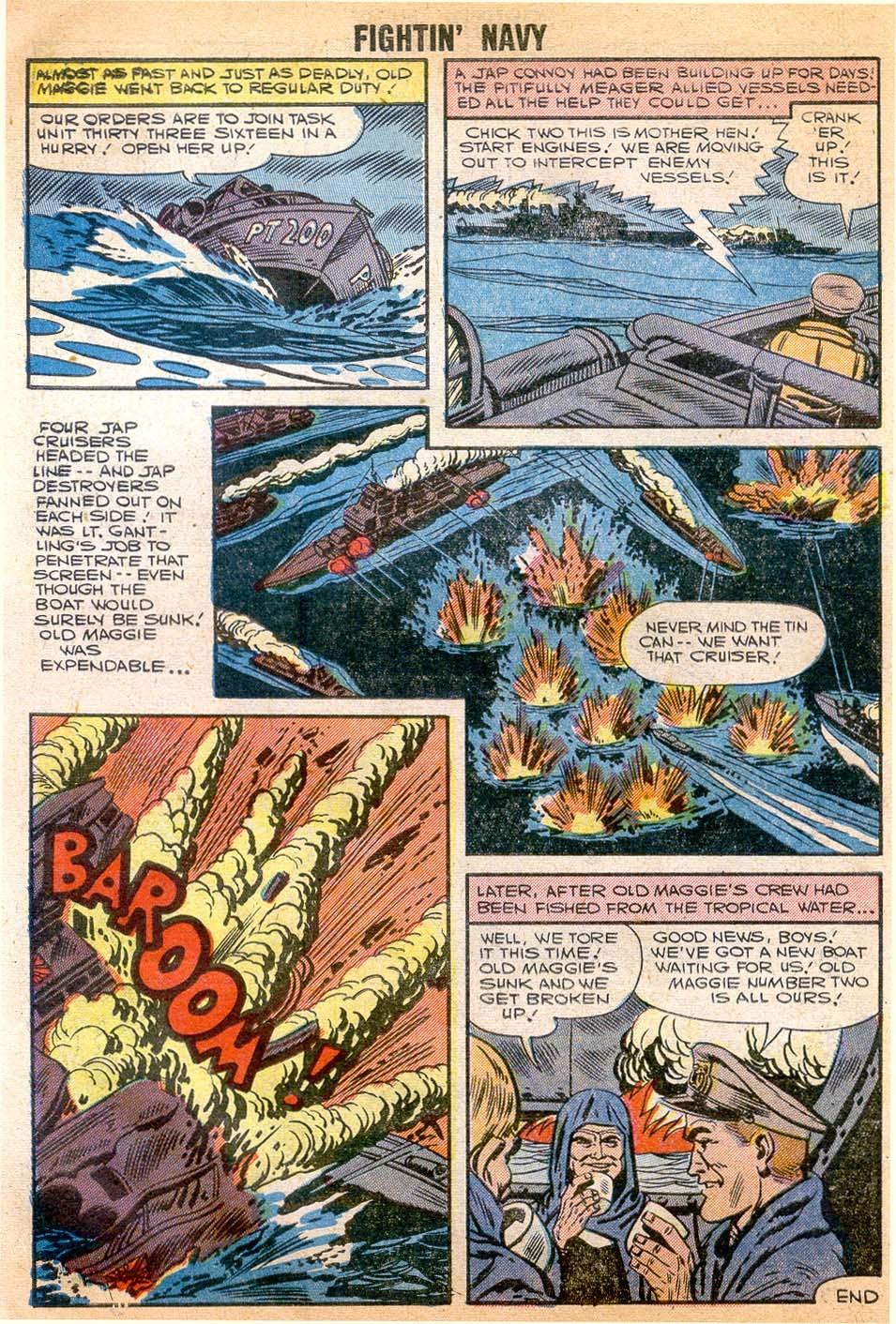 Read online Fightin' Navy comic -  Issue #79 - 10