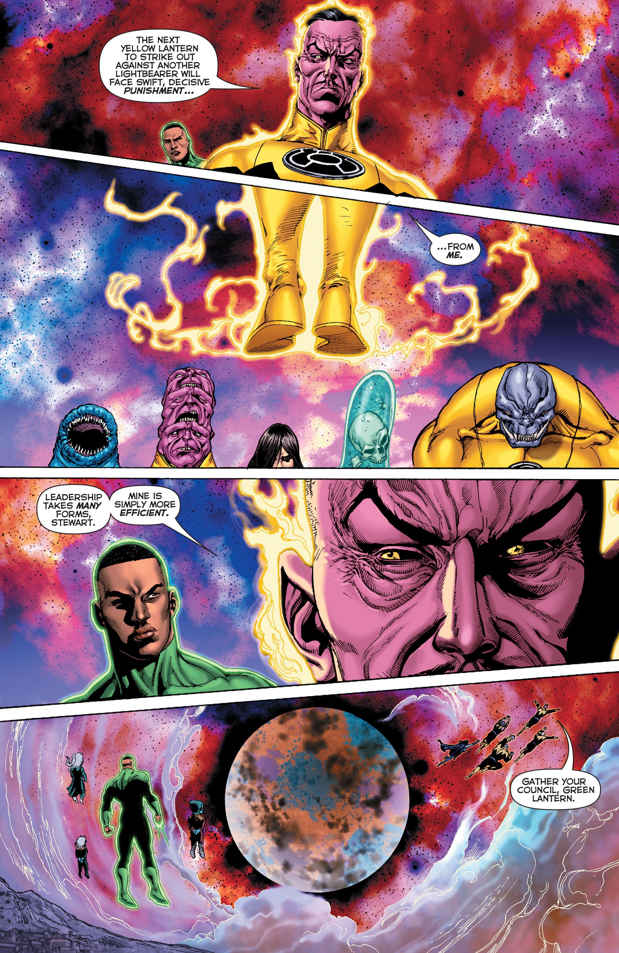 Read online Sinestro comic -  Issue #7 - 16