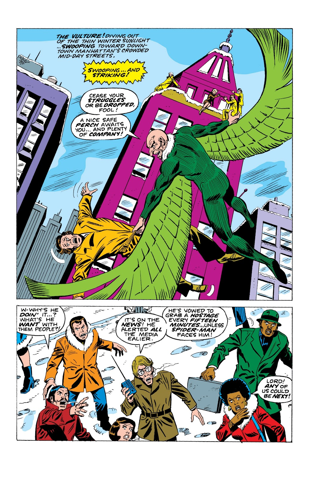 Read online Marvel Masterworks: The Spectacular Spider-Man comic -  Issue # TPB (Part 1) - 71