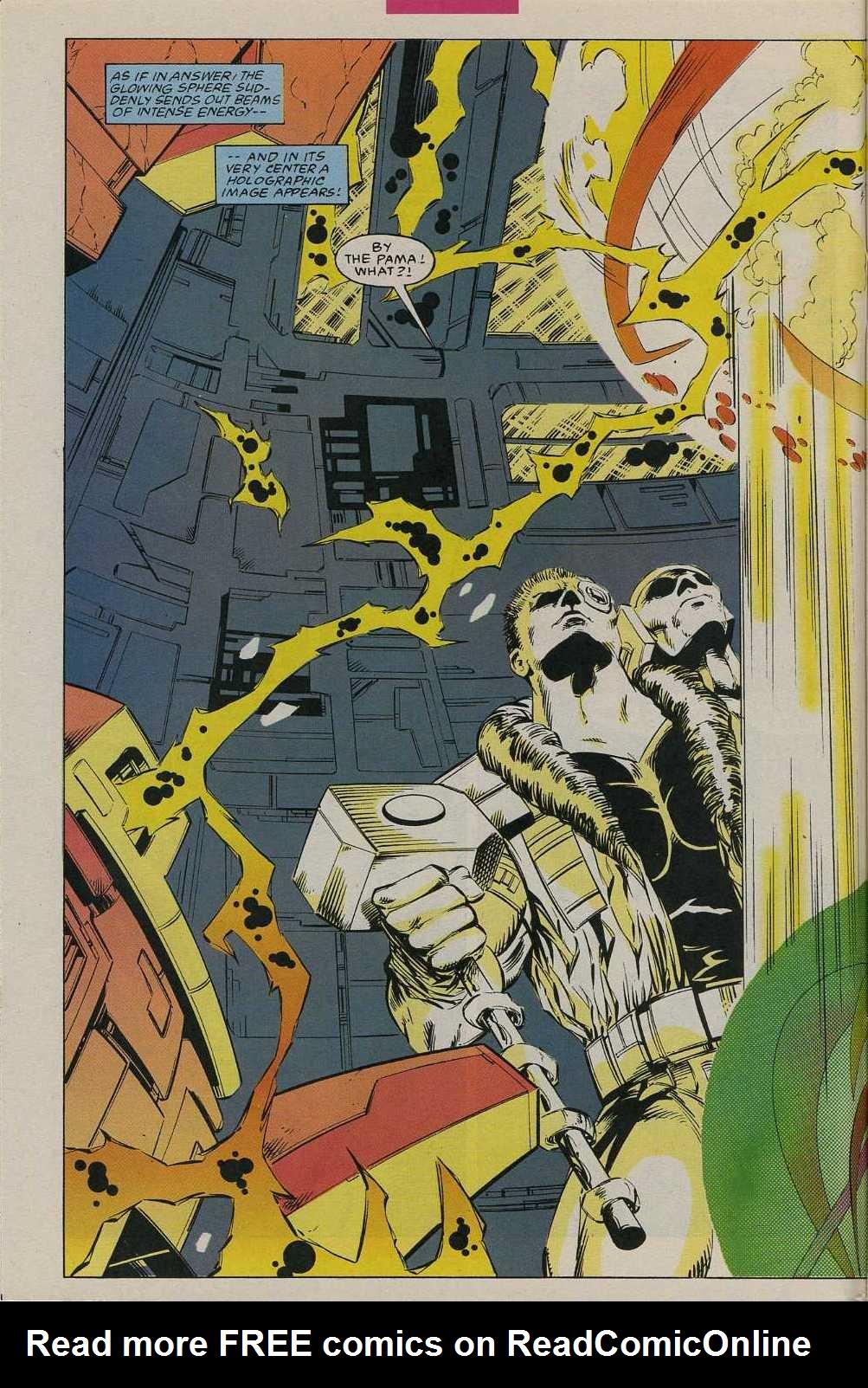 Read online Avengers Strike File comic -  Issue # Full - 7