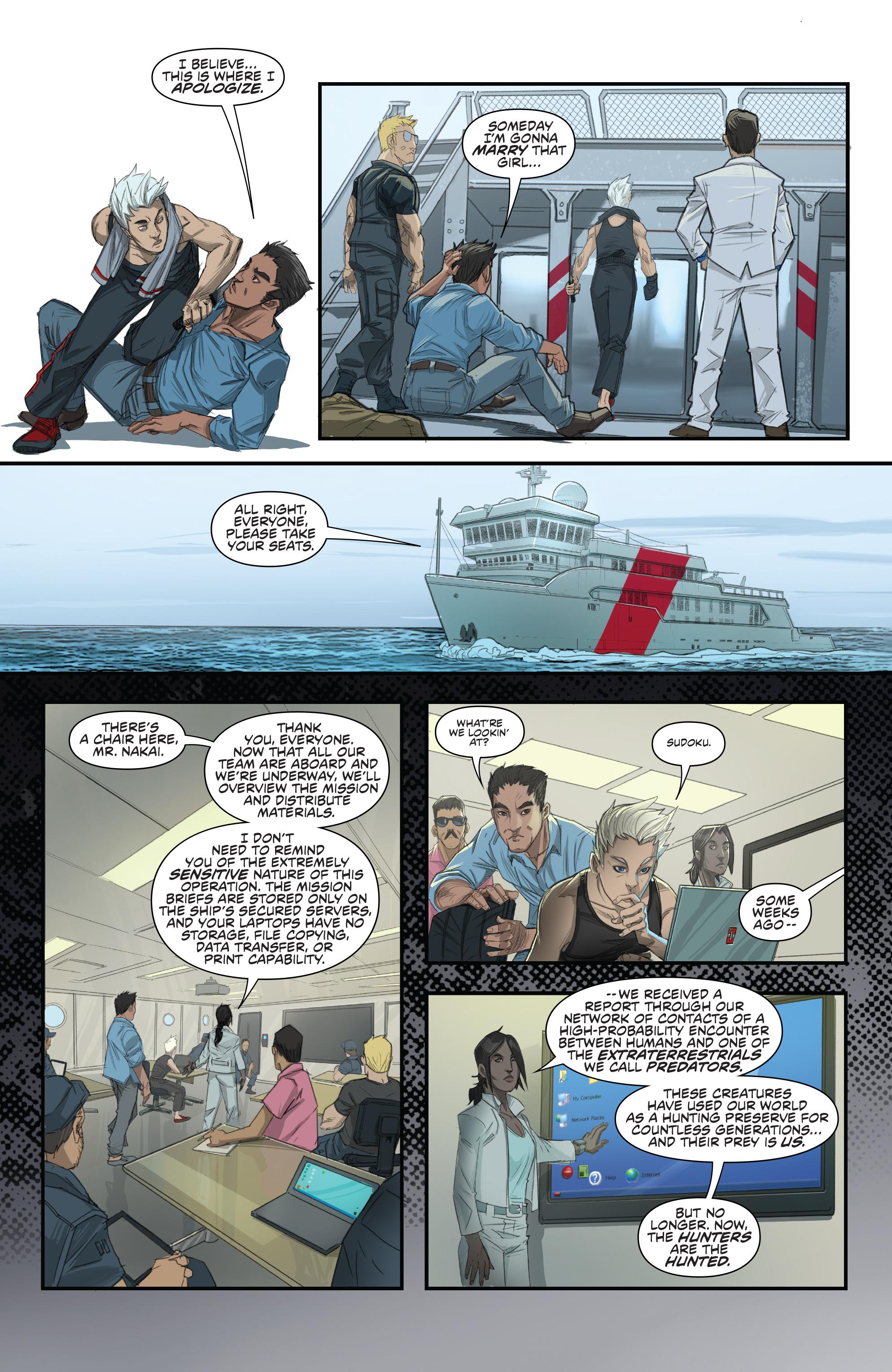 Read online Predator: Hunters comic -  Issue #2 - 9