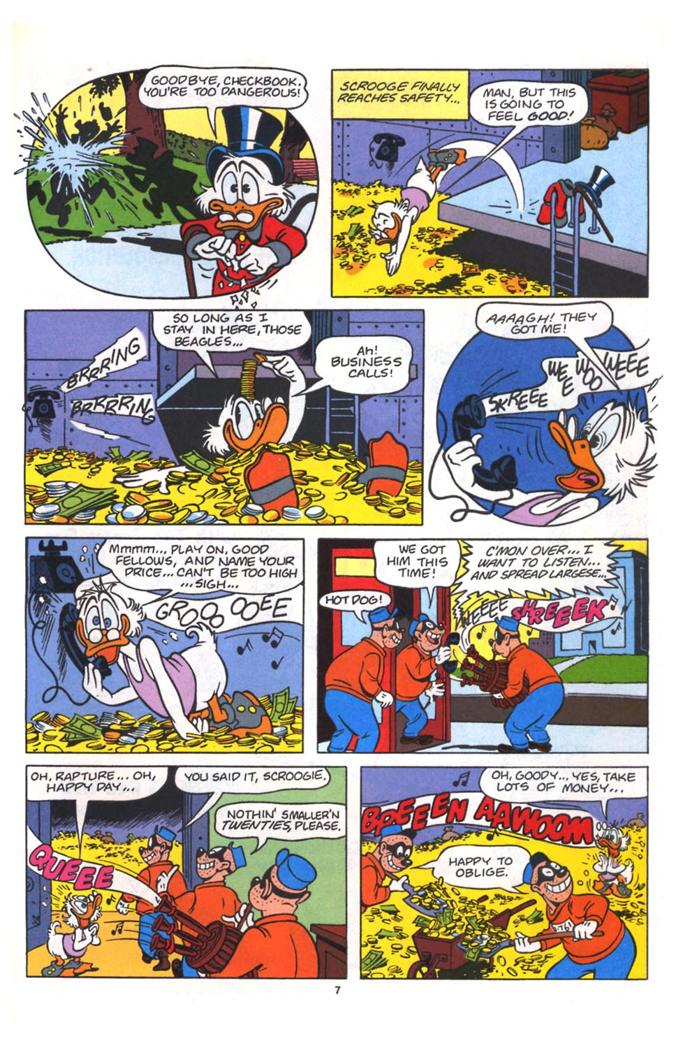 Read online Uncle Scrooge (1953) comic -  Issue #264 - 25