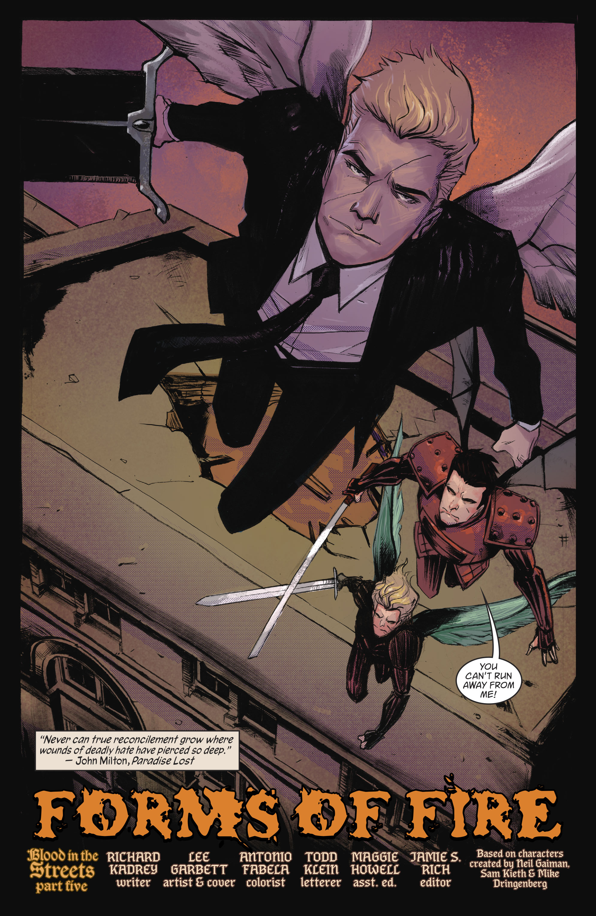 Read online Lucifer (2016) comic -  Issue #18 - 5