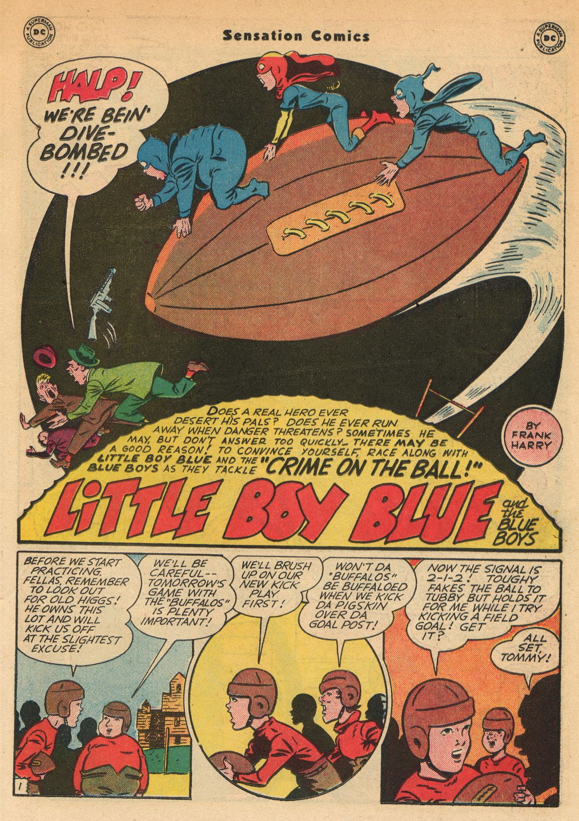 Read online Sensation (Mystery) Comics comic -  Issue #51 - 17