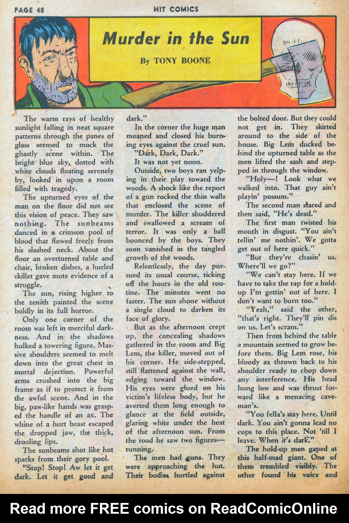 Read online Hit Comics comic -  Issue #12 - 50