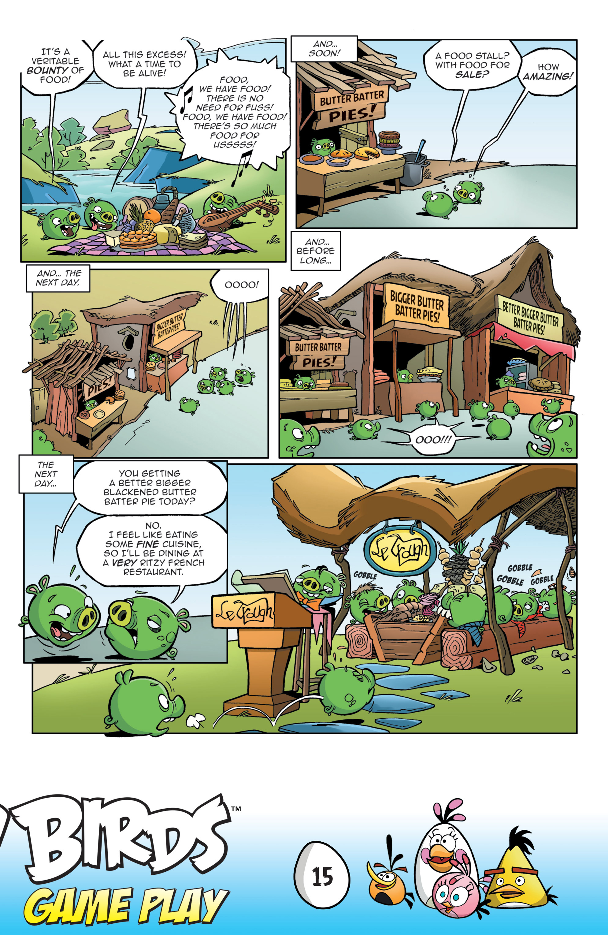Read online Angry Birds Comics: Game Play comic -  Issue #3 - 17