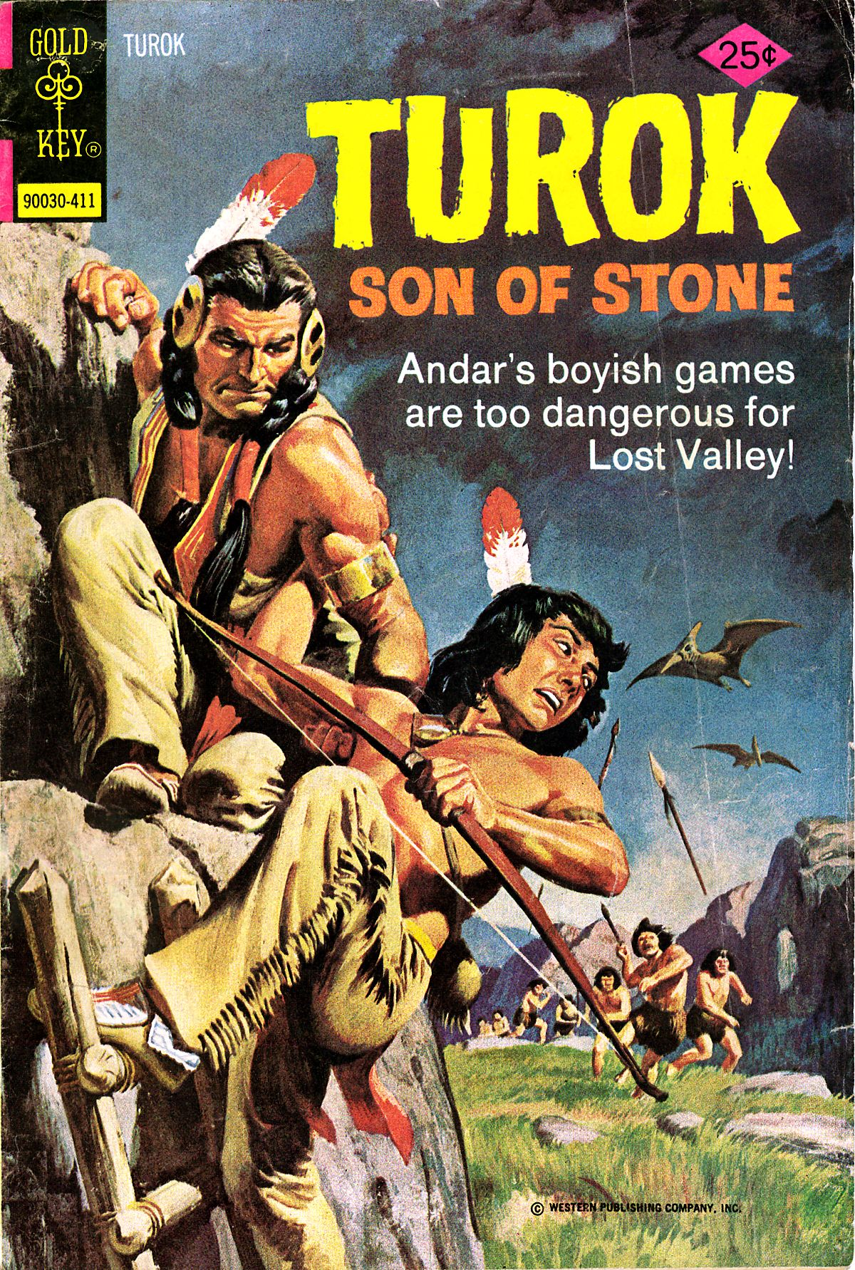 Read online Turok, Son of Stone comic -  Issue #93 - 1