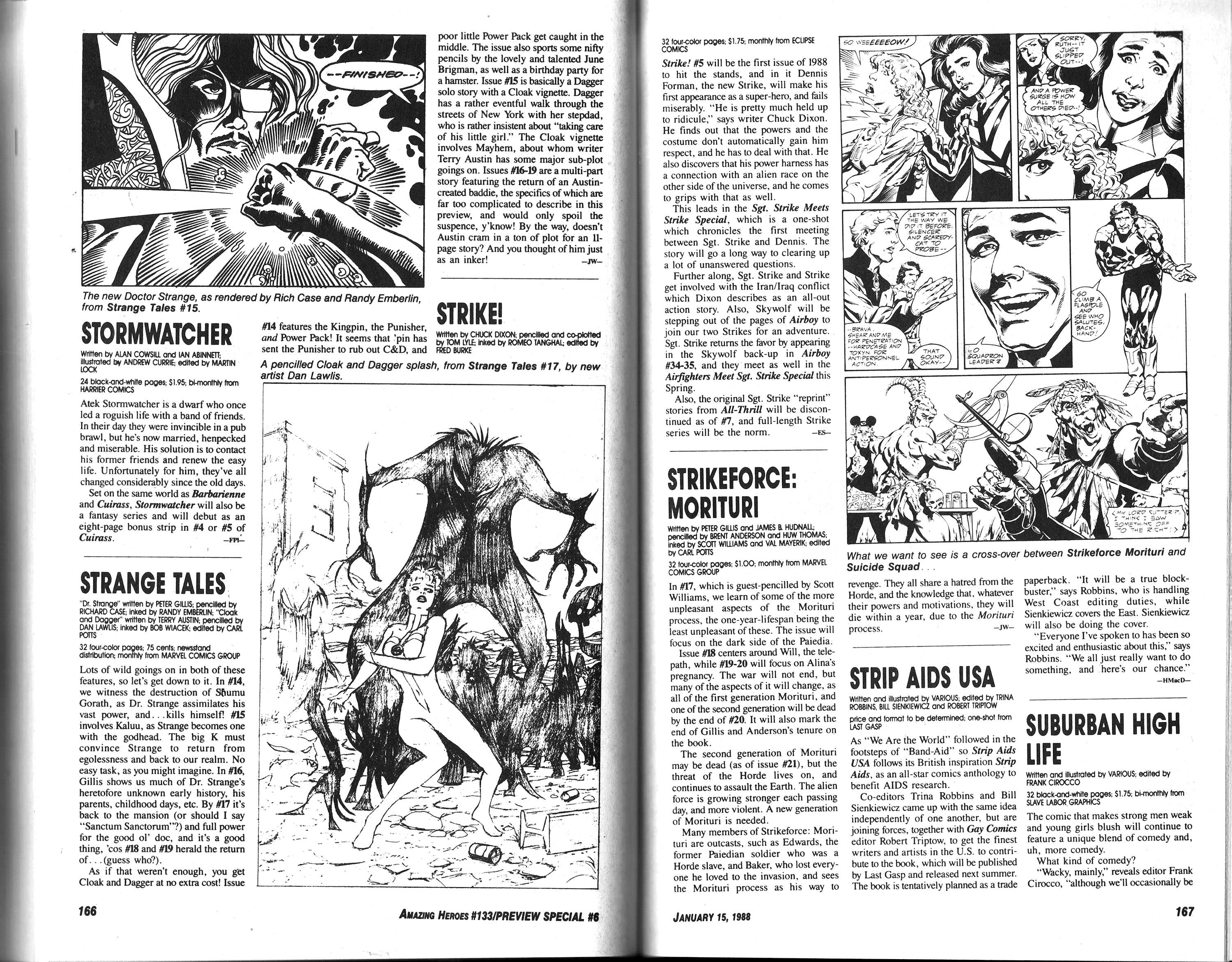 Read online Amazing Heroes comic -  Issue #133 - 85