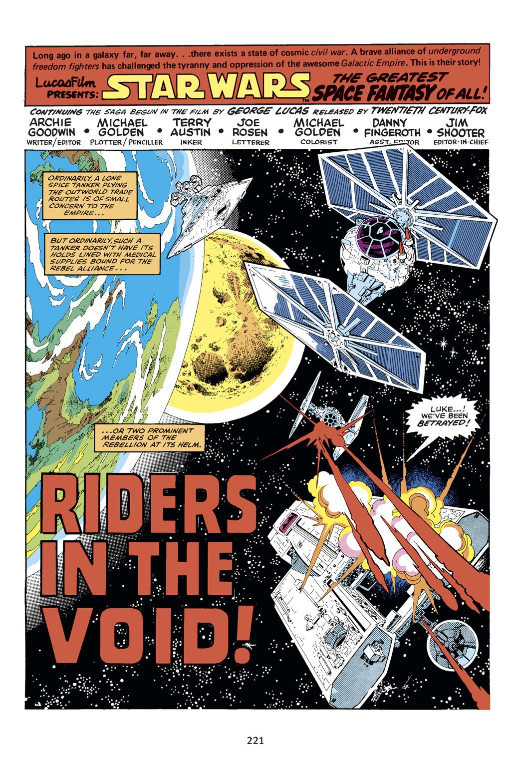 Read online Star Wars Omnibus comic -  Issue # Vol. 14 - 219