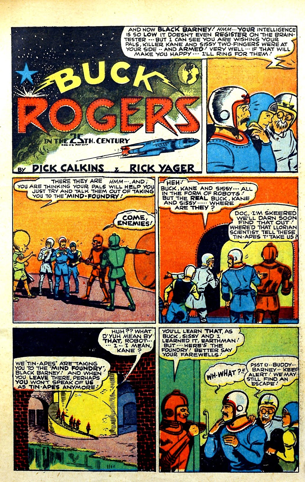 Read online Famous Funnies comic -  Issue #145 - 5