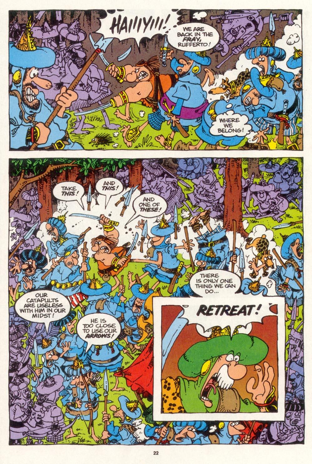 Read online Sergio Aragonés Groo the Wanderer comic -  Issue #109 - 24