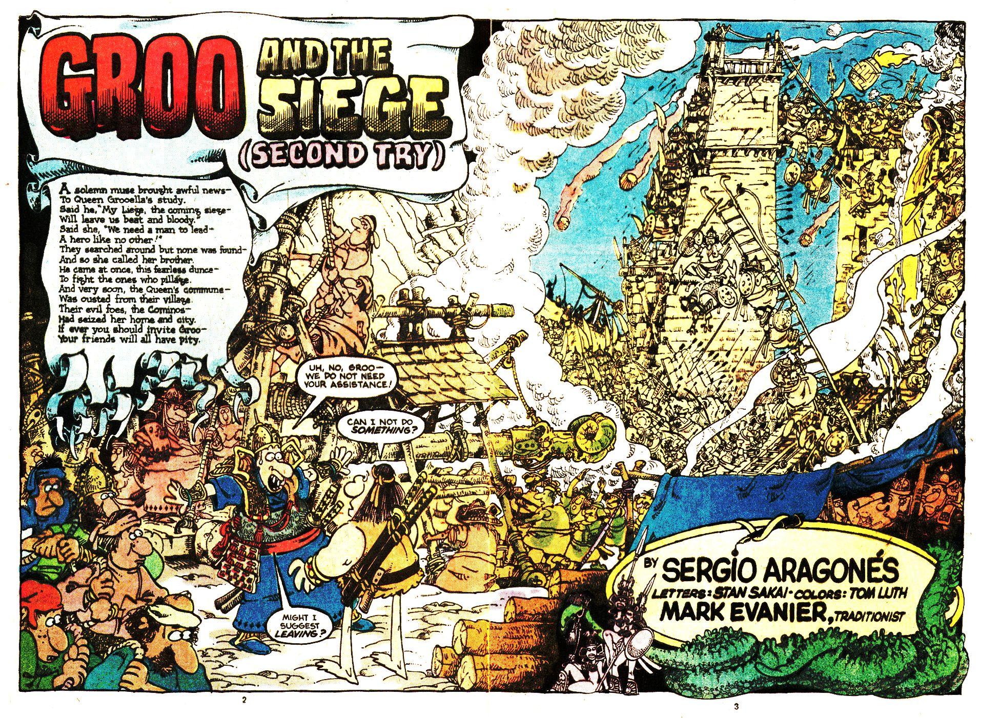 Read online Sergio Aragonés Groo the Wanderer comic -  Issue #20 - 3