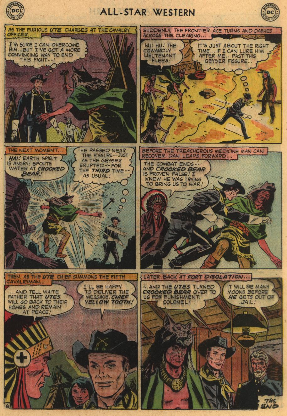 Read online All-Star Western (1951) comic -  Issue #100 - 25