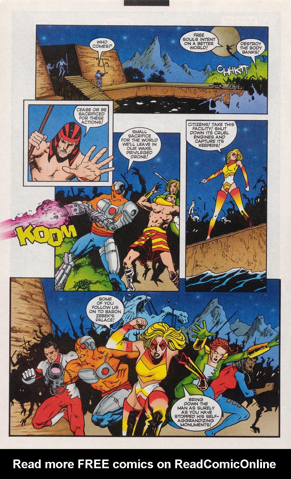 Read online Alpha Flight (1997) comic -  Issue #11 - 15