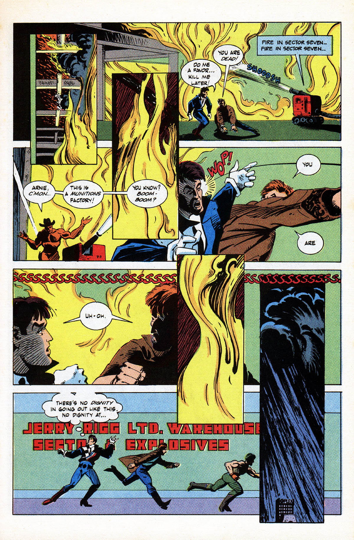 Read online American Flagg! comic -  Issue #38 - 21