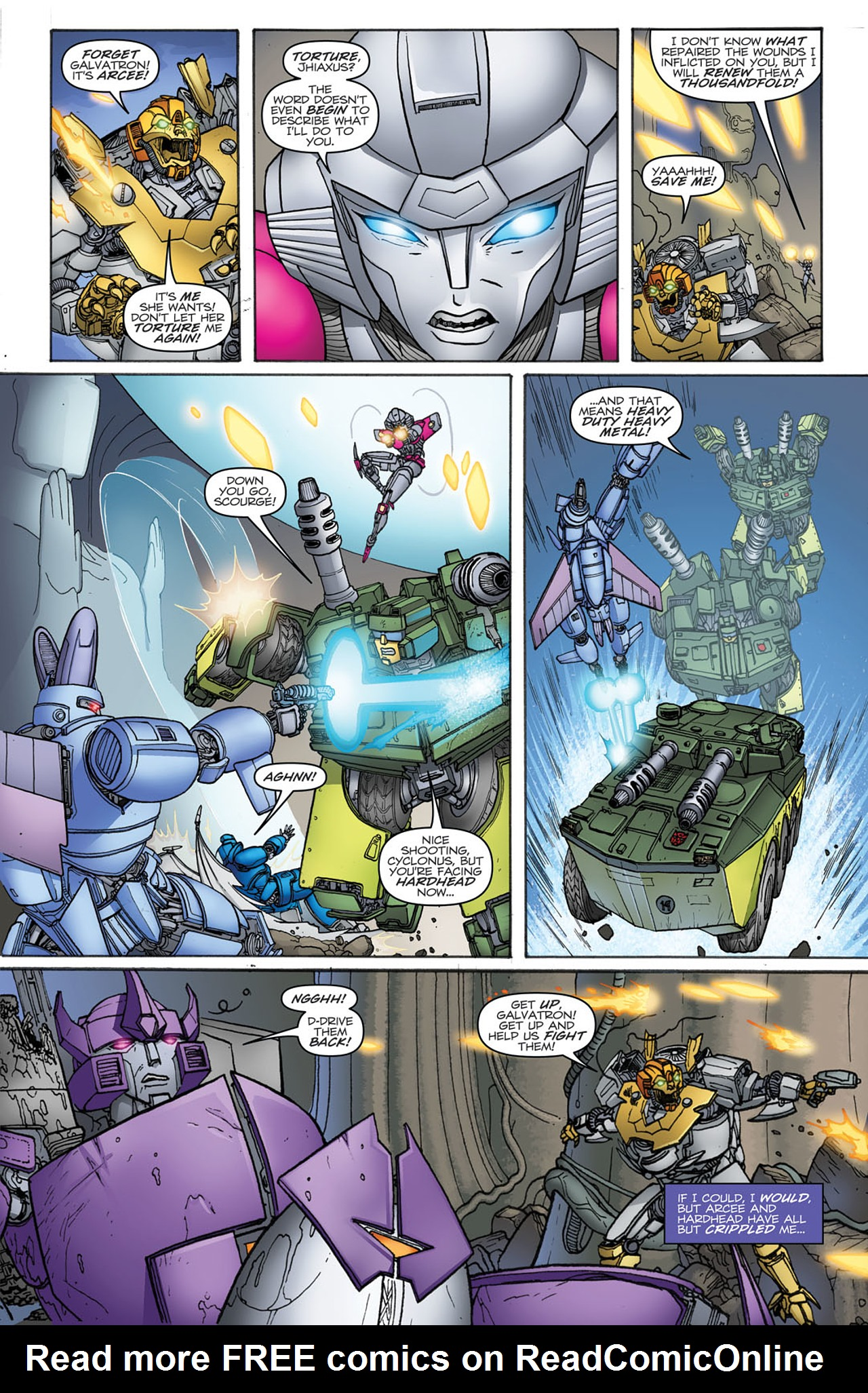 Read online Transformers: Heart of Darkness comic -  Issue #2 - 5