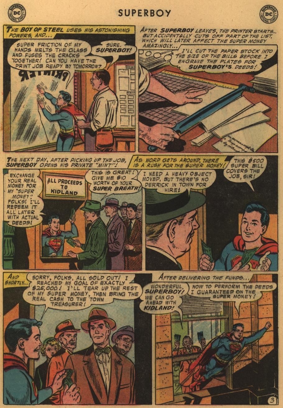 Superboy (1949) issue 51 - Page 19