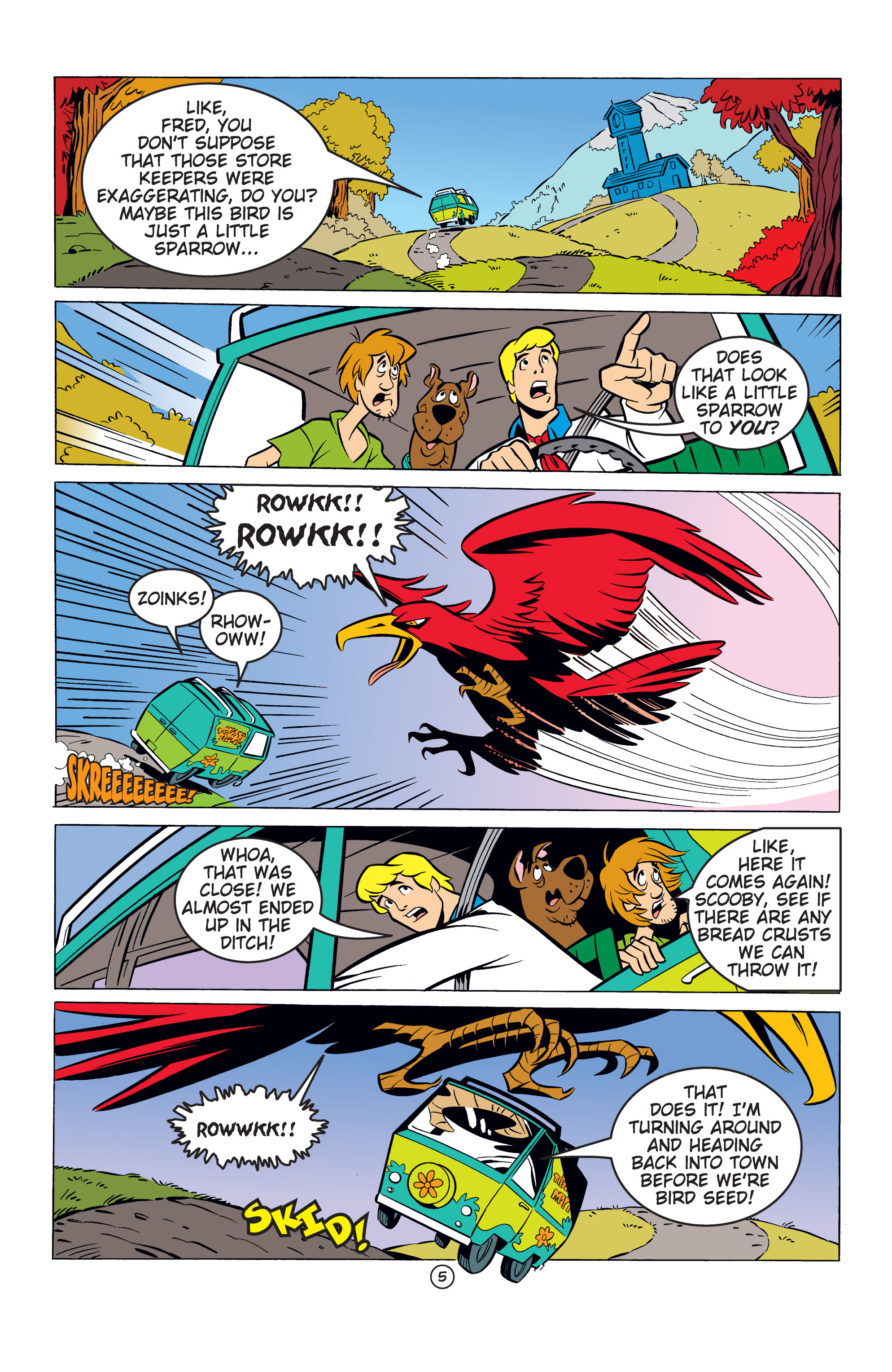 Read online Scooby-Doo: Where Are You? comic -  Issue #53 - 16