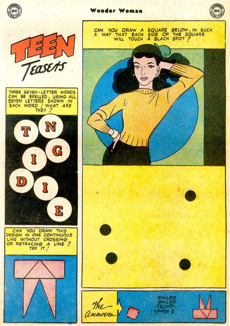 Read online Wonder Woman (1942) comic -  Issue #91 - 24