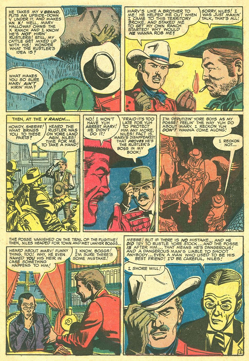 Gunsmoke Western issue 41 - Page 11
