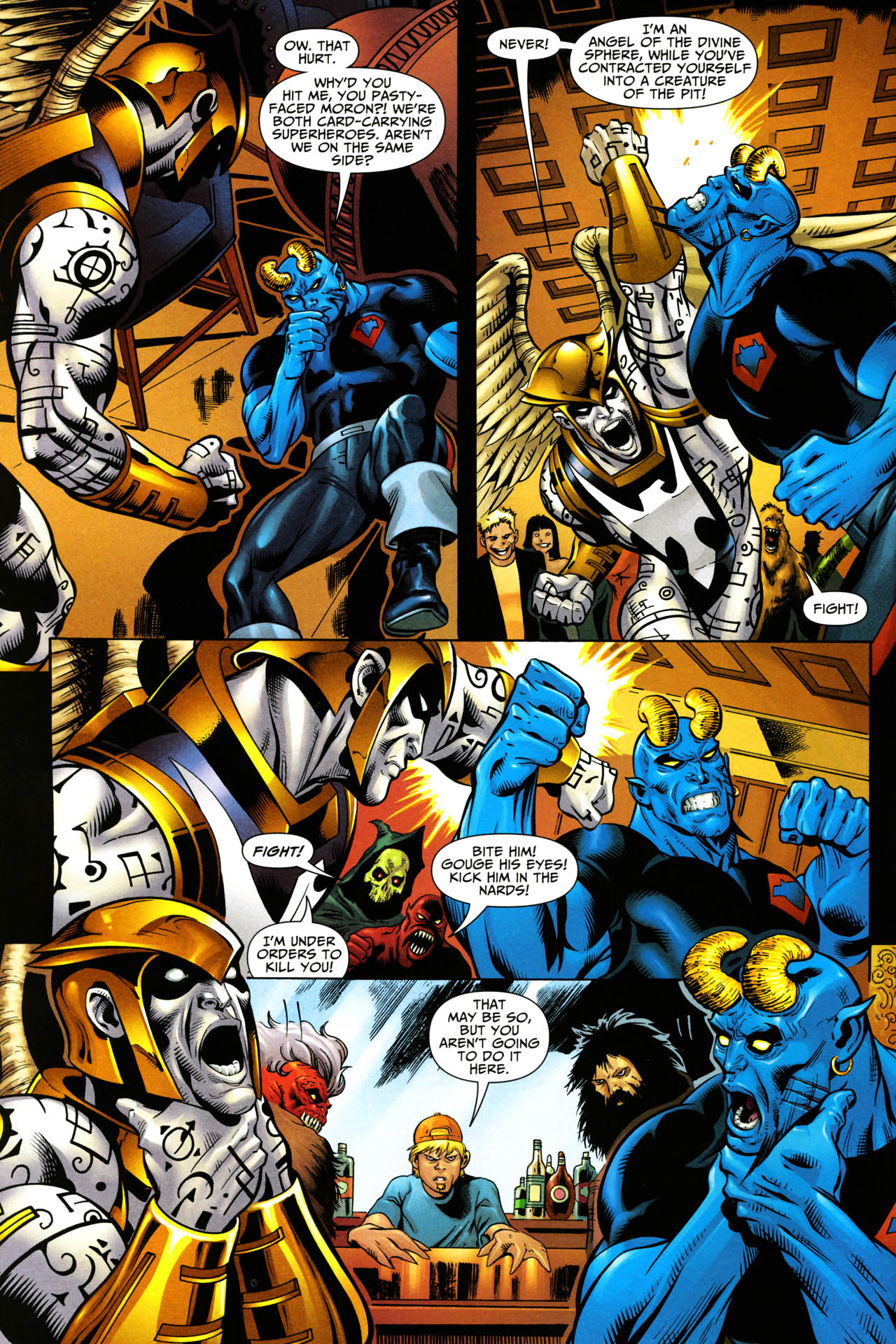 Read online Shadowpact comic -  Issue #14 - 3