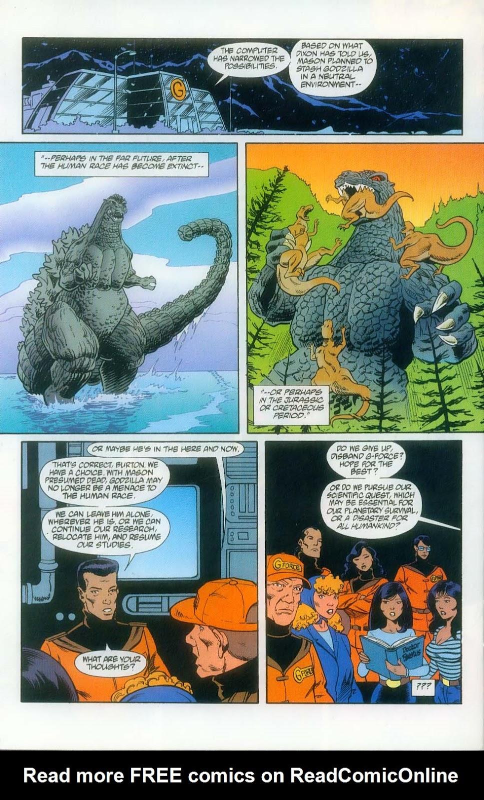 Godzilla (1995) Issue #12 #13 - English 26