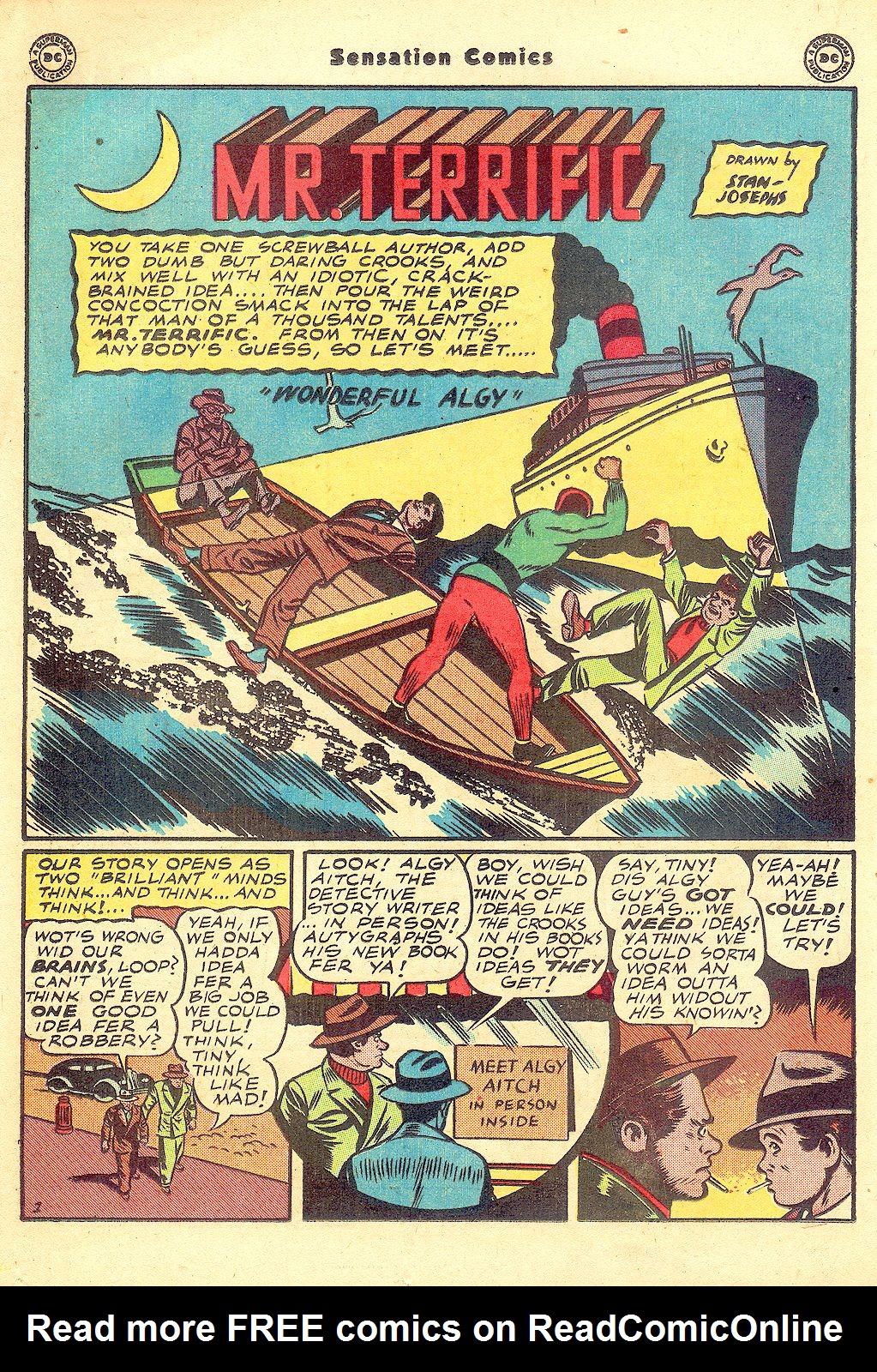 Read online Sensation (Mystery) Comics comic -  Issue #57 - 32