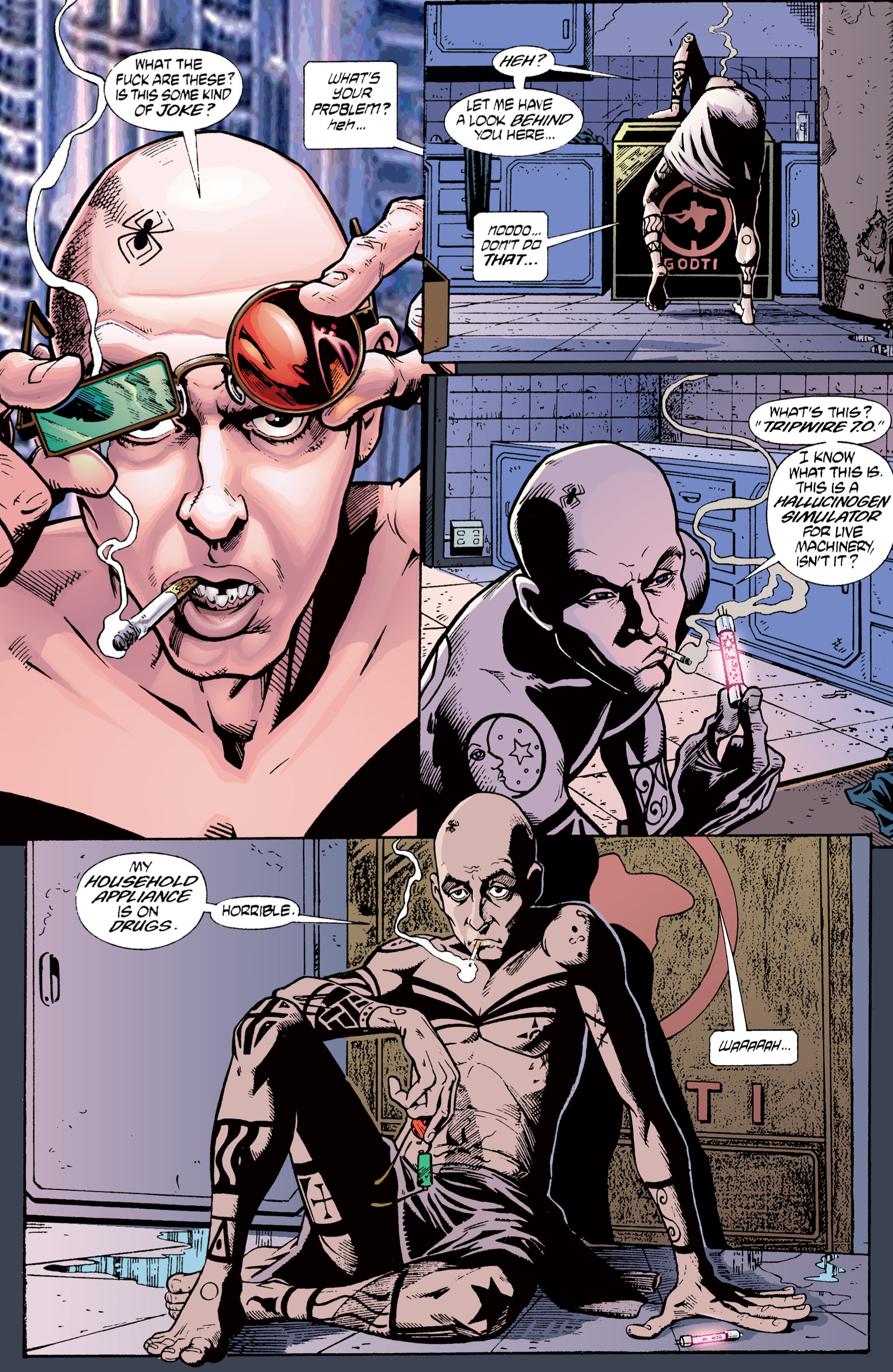 Read online Transmetropolitan comic -  Issue #1 - 22