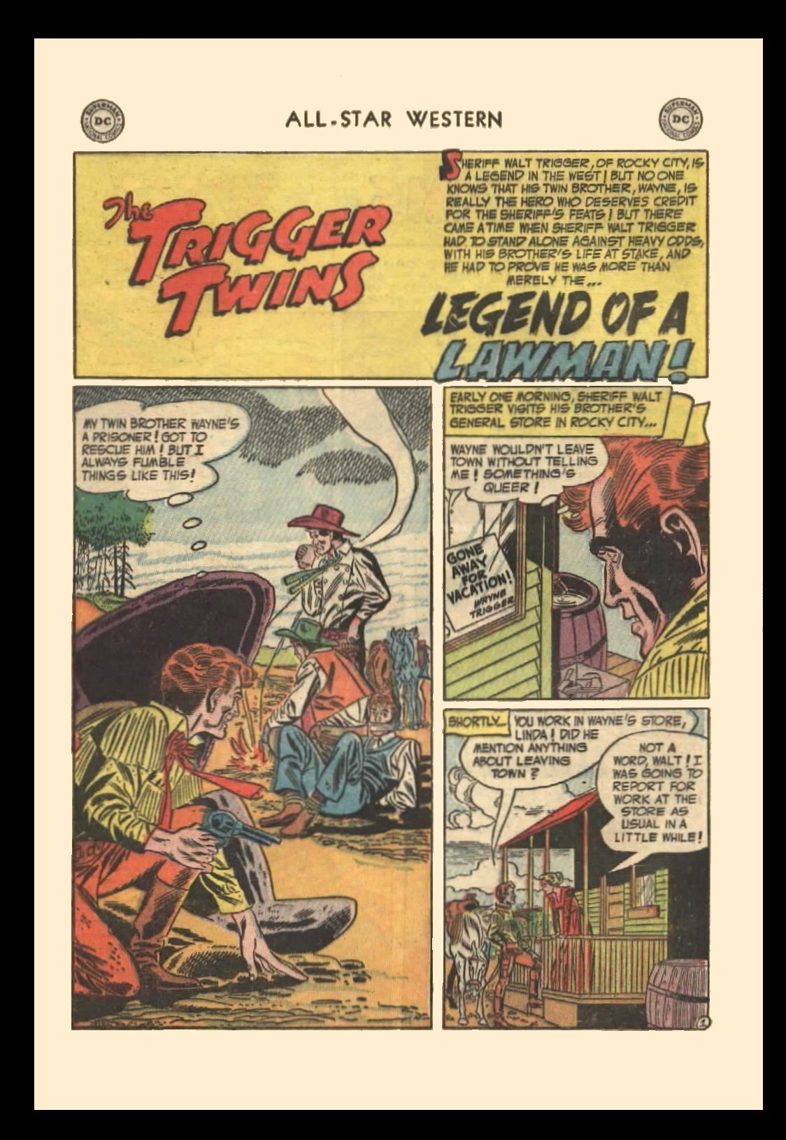 Read online All-Star Western (1951) comic -  Issue #72 - 28