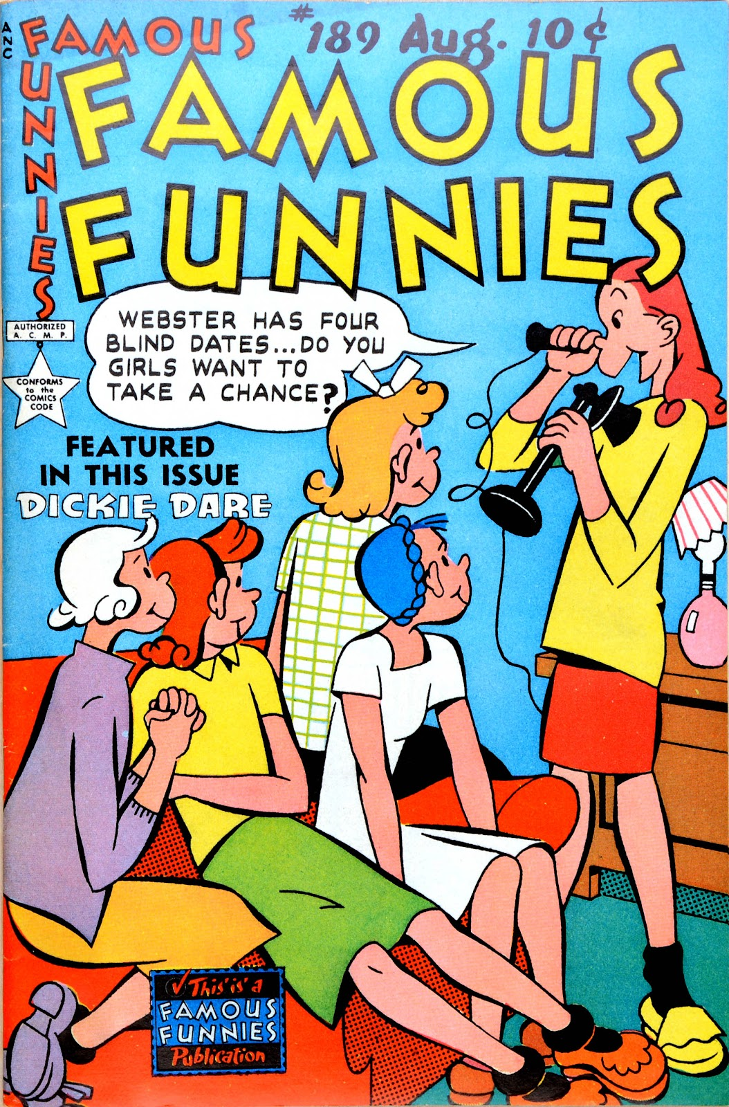 Read online Famous Funnies comic -  Issue #189 - 1